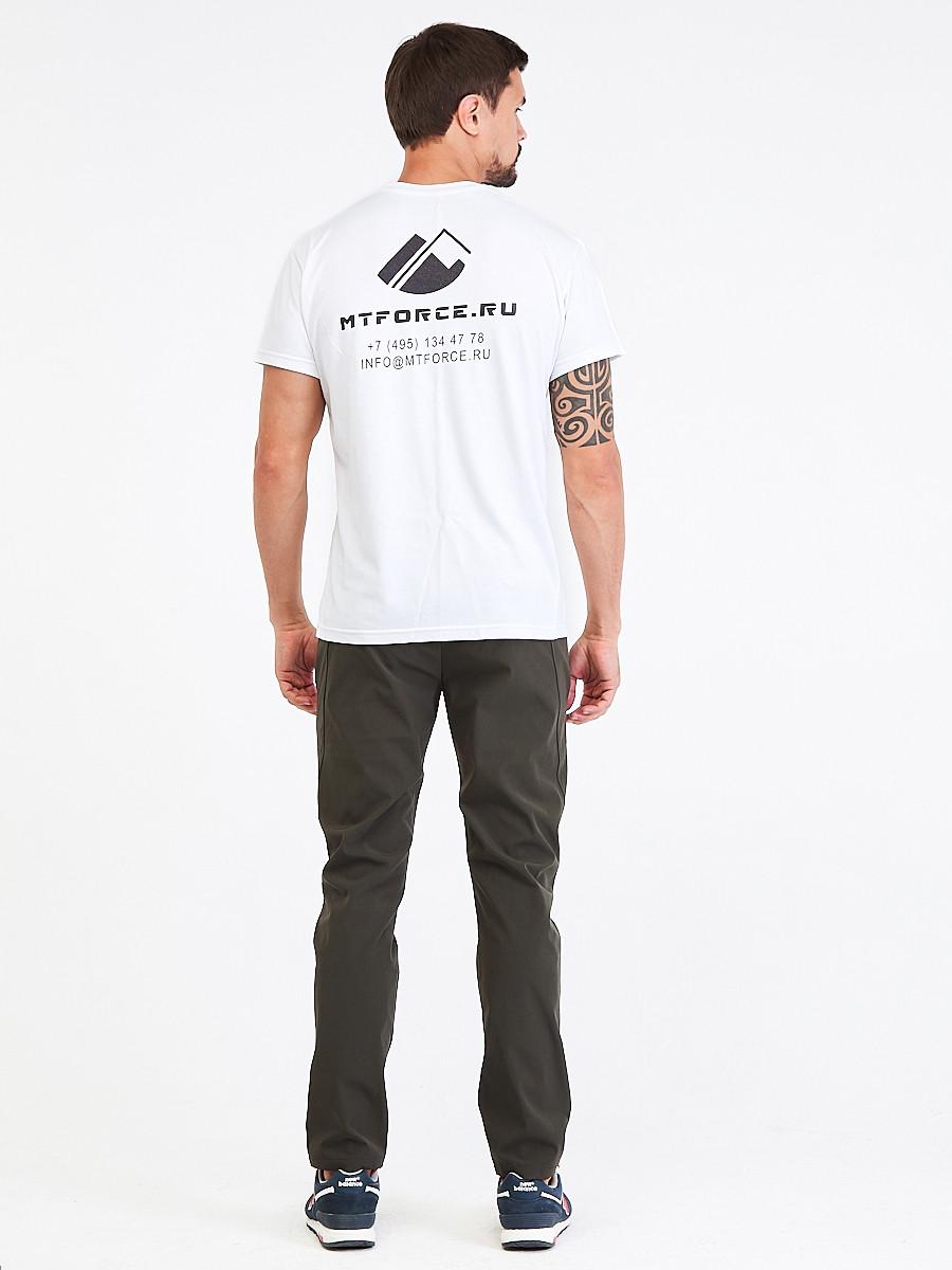 Купить оптом Брюки мужские повседневные цвета хаки 00812Kh