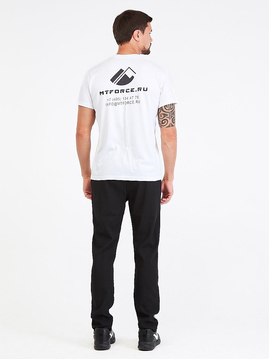 Купить оптом Брюки мужские повседневные черного цвета 00817Ch в Волгоградке