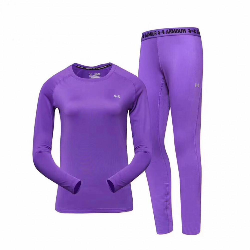 Купить оптом Термобелье женское фиолетового цвета 08932F