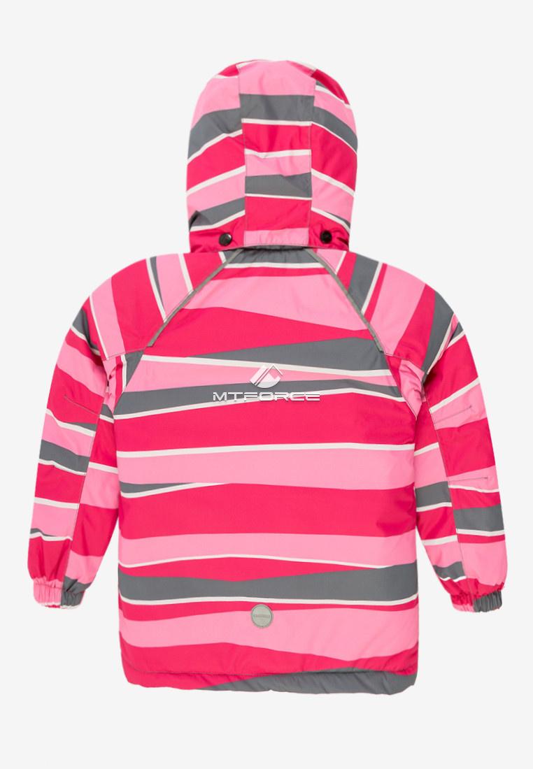 Купить оптом Куртка демисезонная подростковая для девочки розового цвета 016-3R