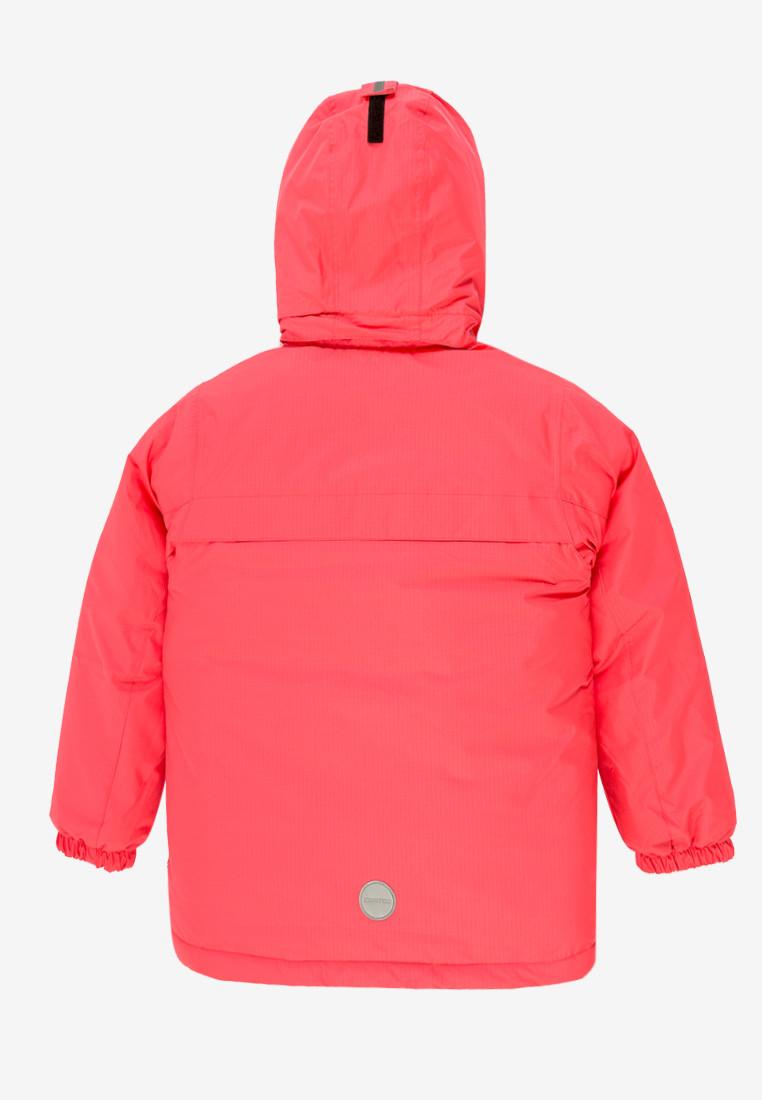 Купить оптом Куртка демисезонная подростковая для девочки розового цвета 016-2R