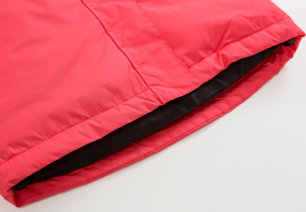 Купить оптом Куртка демисезонная подростковая для девочки розового цвета 016-2R в Уфе