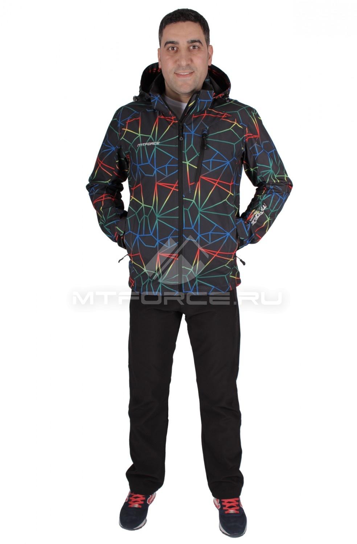 Купить                                  оптом Костюм виндстопер мужской темно-синего цвета 01732TS в Санкт-Петербурге