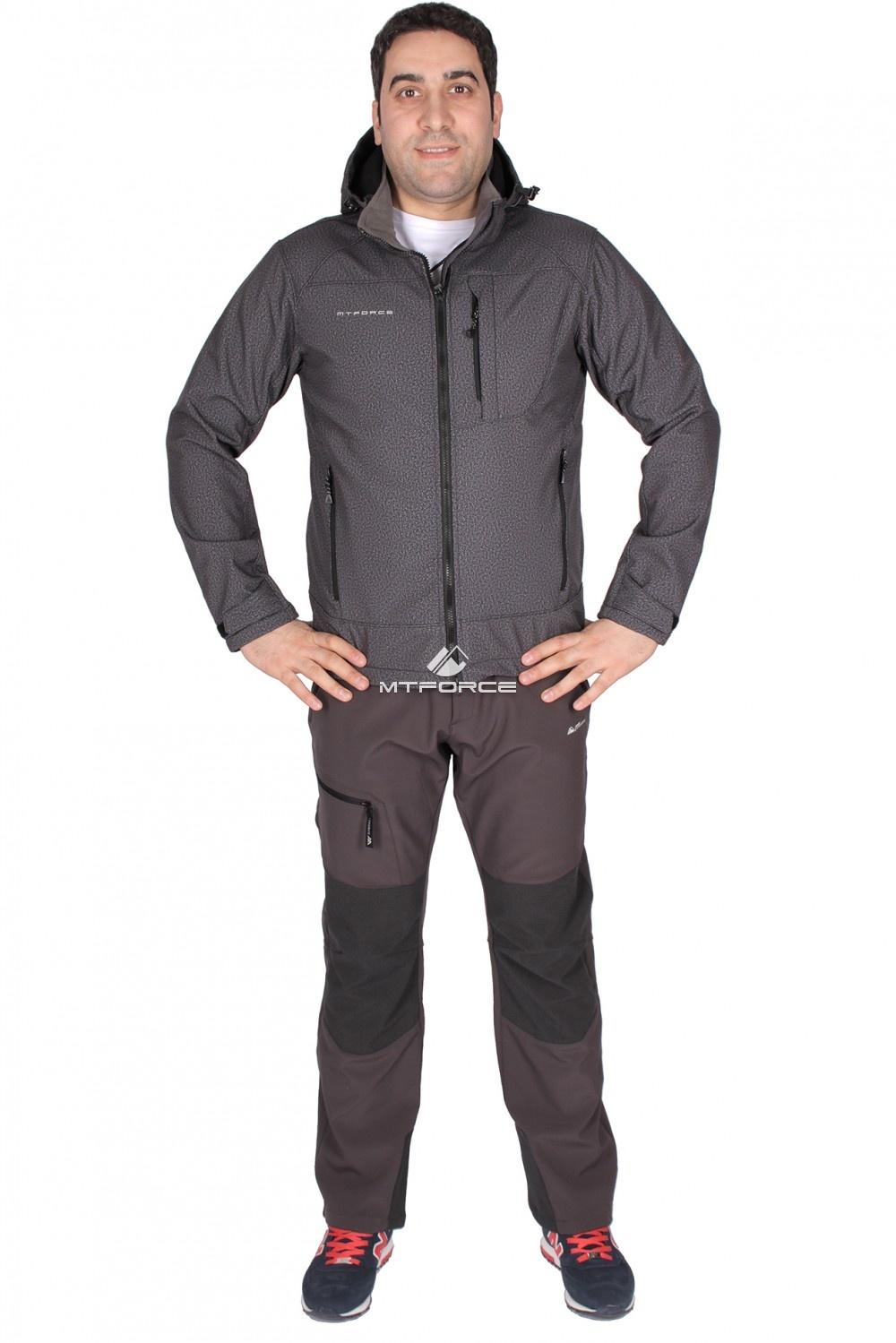 Купить                                      оптом Костюм виндстопер мужской серого цвета 01733Sr