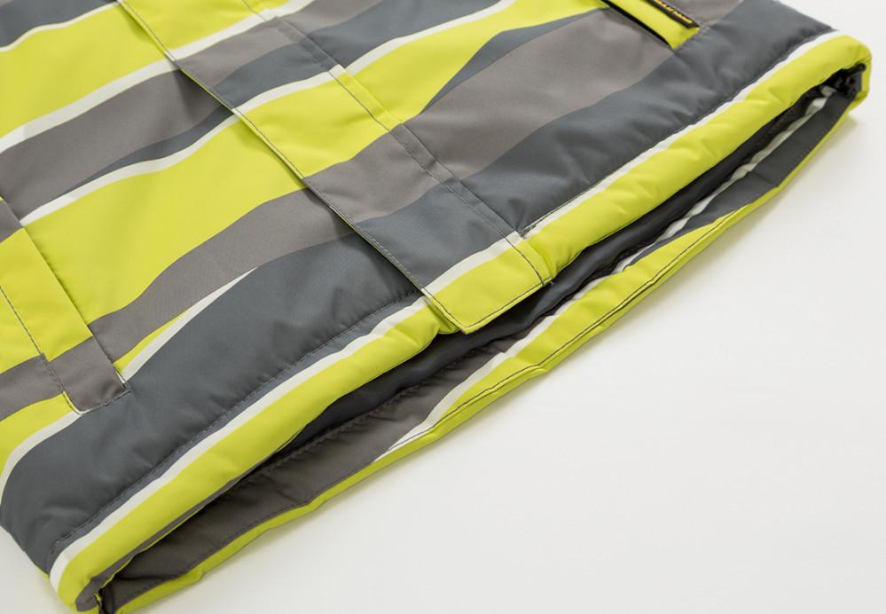 Купить оптом Куртка демисезонная подростковая для мальчика желтого цвета 017J