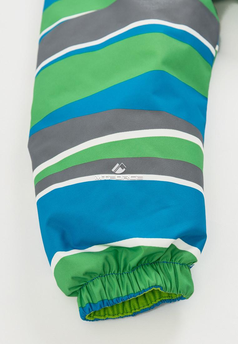 Купить оптом Куртка демисезонная подростковая для мальчика зеленого цвета 017Z