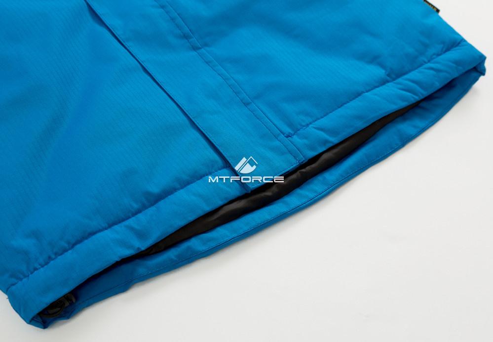 Купить оптом Куртка демисезонная подростковая для мальчика синего цвета 017-2S