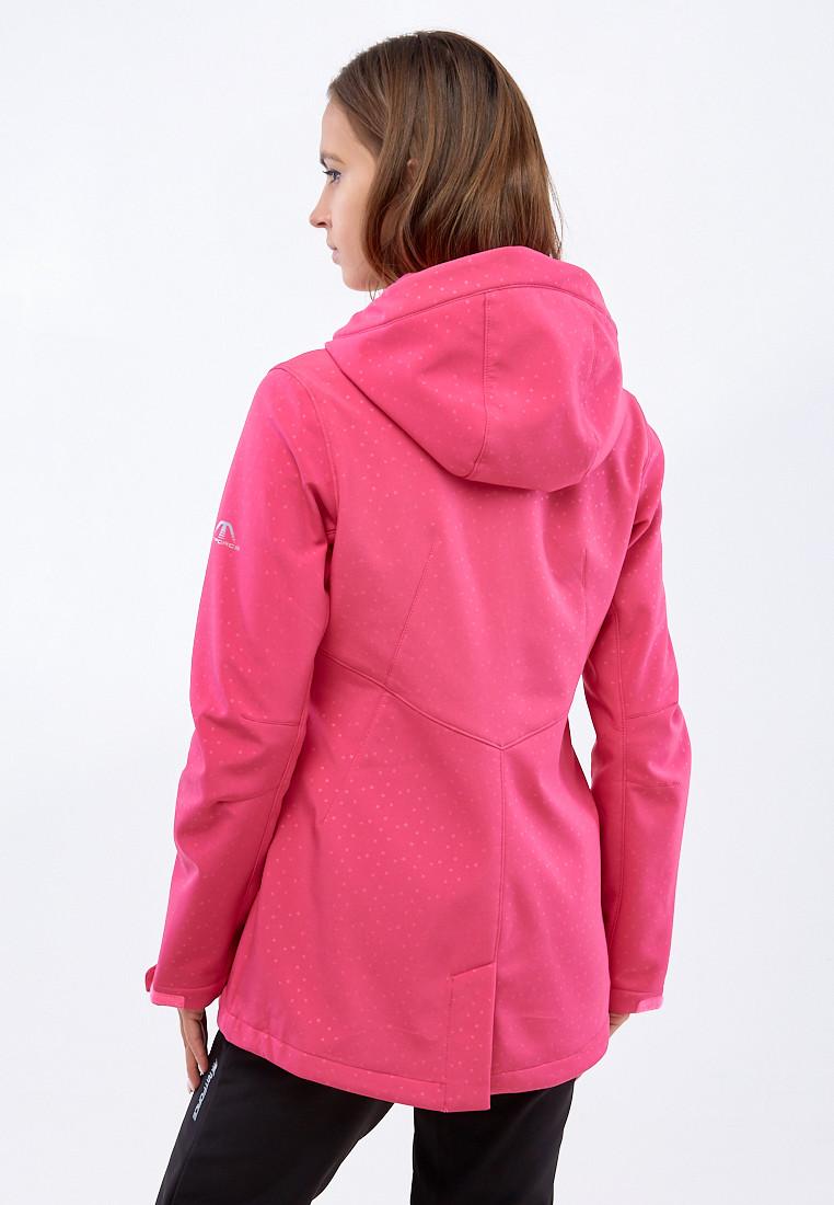 Купить оптом Костюм женский softshell малиновго цвета 01816-1M