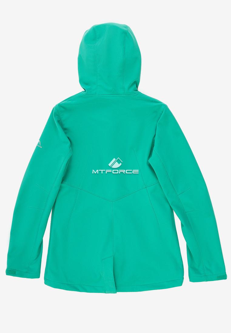 Купить оптом Ветровка softshell женская зеленого цвета 1816-1Z
