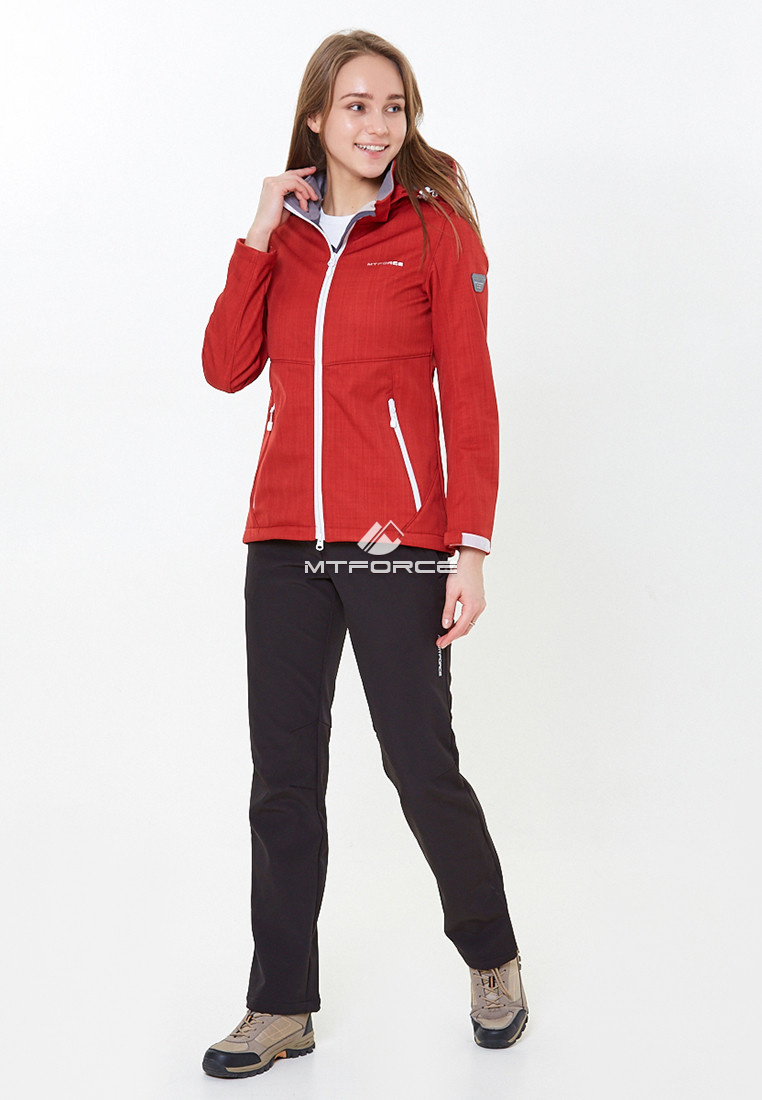 913745c6 Спортивный костюм женский осенний весенний softshell красного цвета ...