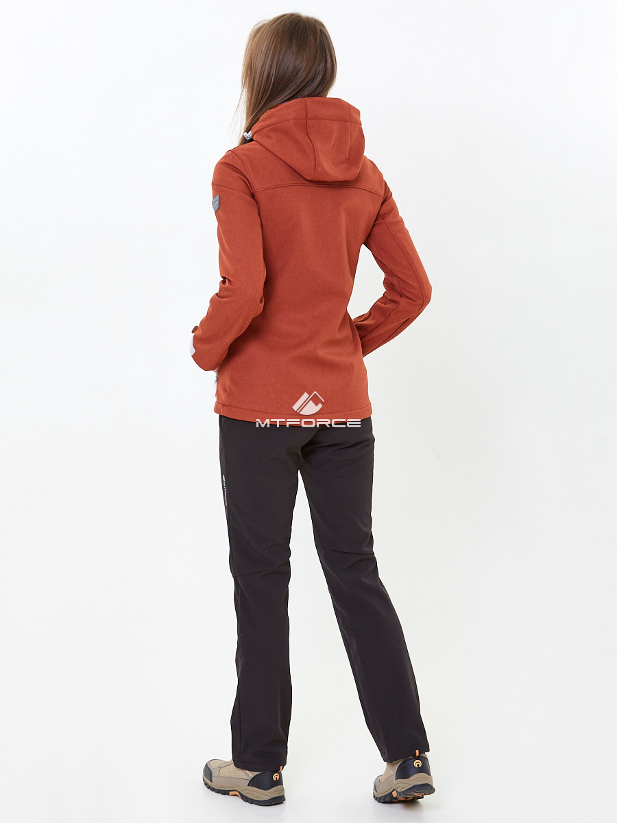 f2230bcc ... Купить оптом Костюм женский softshell оранжевого цвета 01907О ...