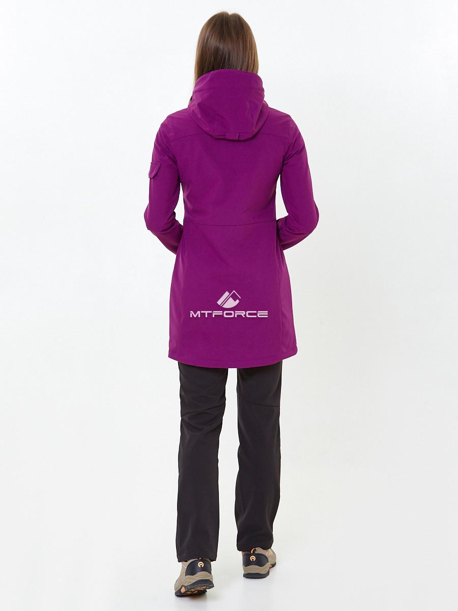 Купить оптом Костюм женский softshell фиолетового цвета 01911-1F