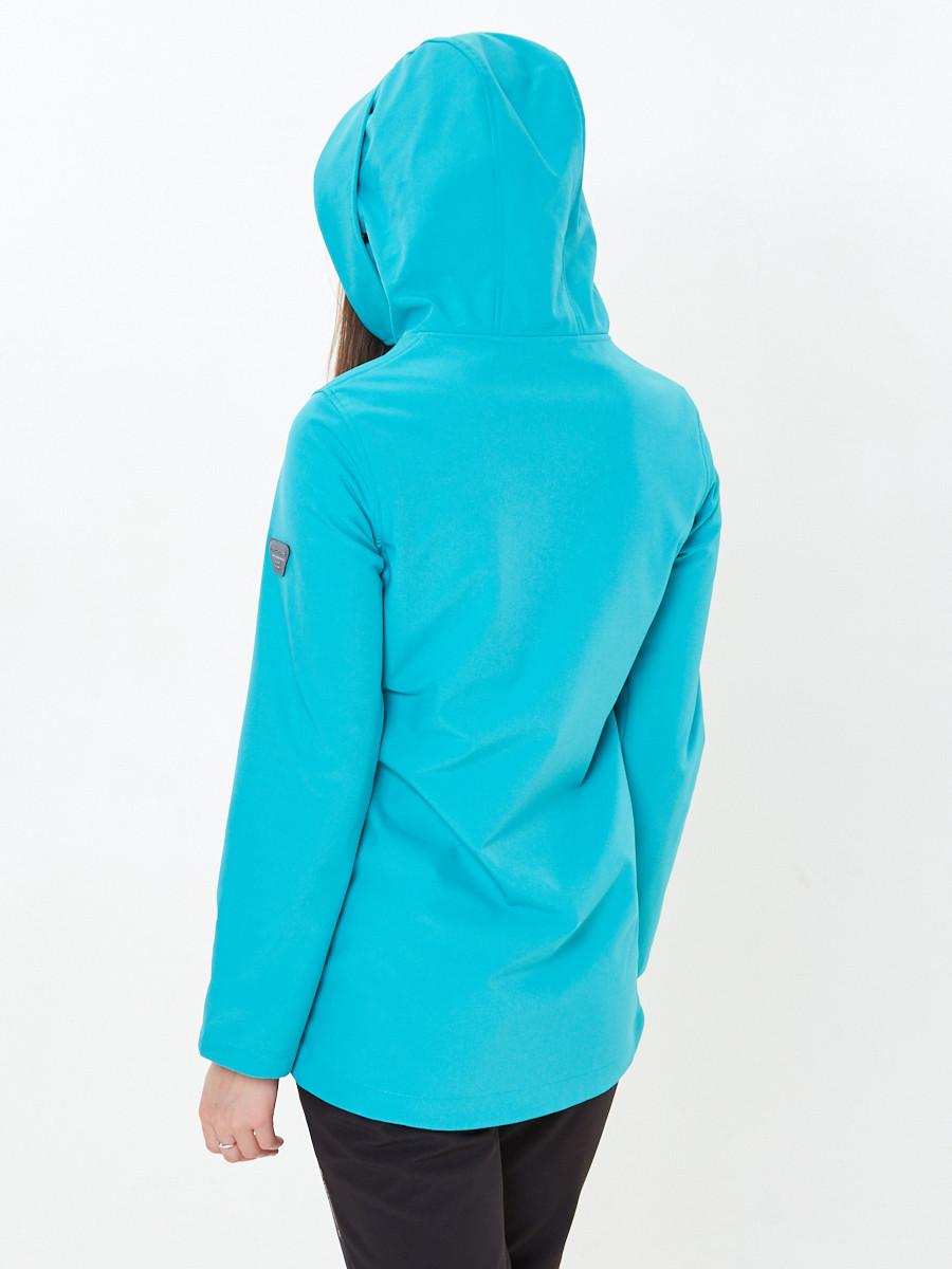 Купить оптом Костюм анорак женский softshell зеленого цвета 01914Z в Сочи