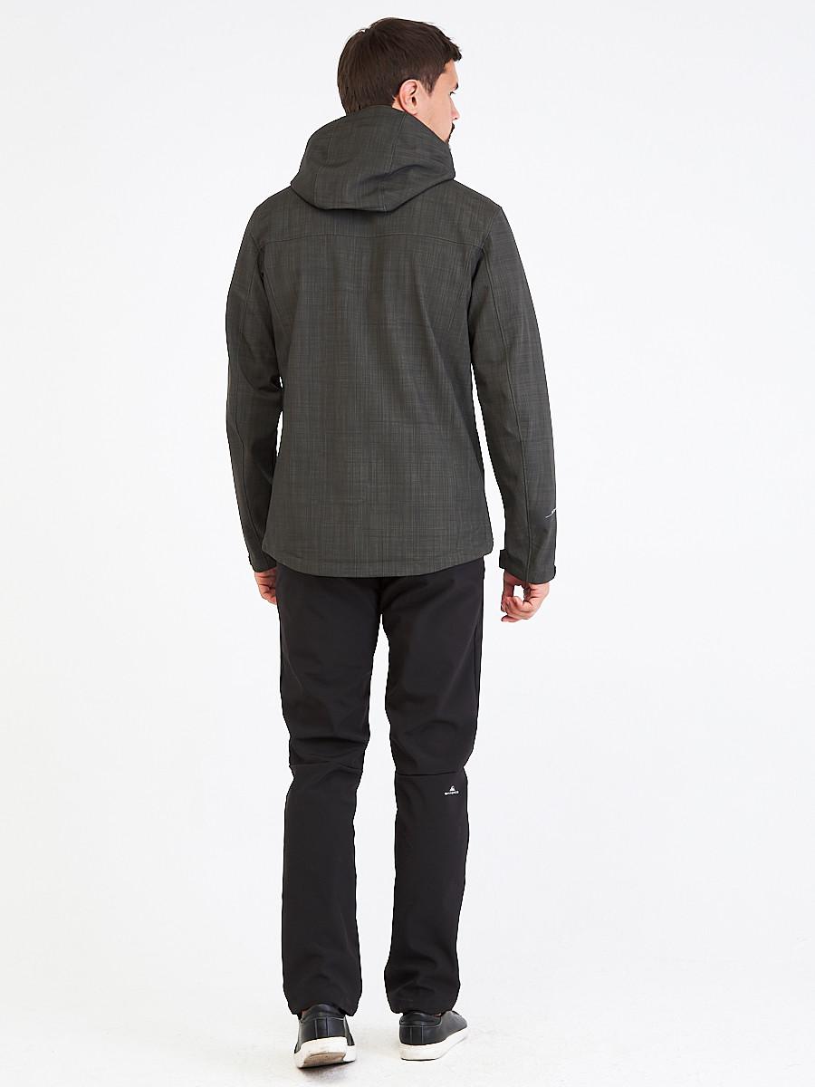 Купить оптом Костюм мужской softshell цвета хаки 01915Kh