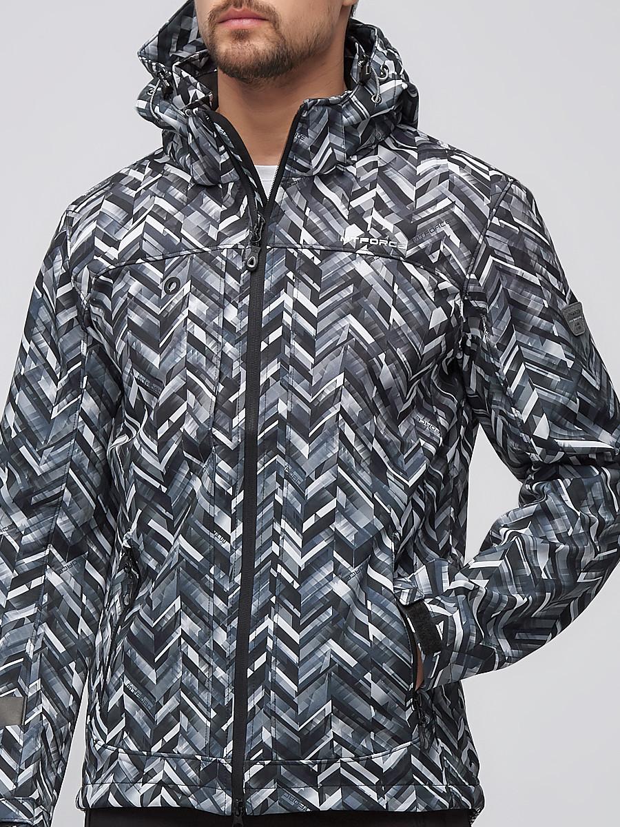 Купить оптом Костюм мужской softshell светло-серого цвета 01915SS