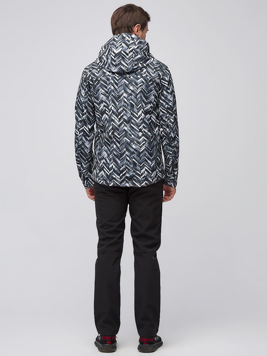 Купить оптом Костюм мужской softshell серого цвета 01915-1Sr в Санкт-Петербурге