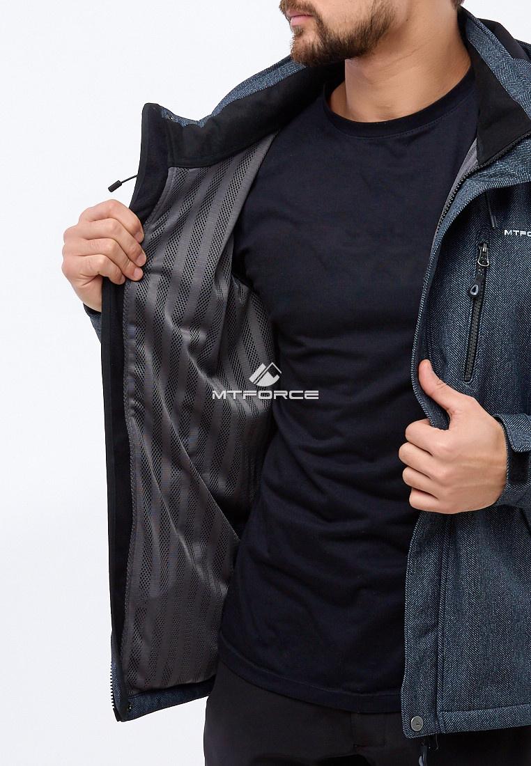 Купить оптом Костюм мужской softshell серого цвета 01920Sr в Казани