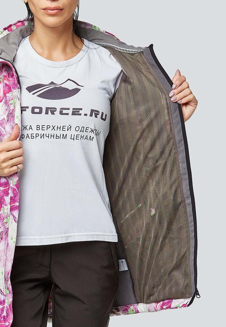 Купить оптом Костюм женский softshell розового цвета 01922-2R в Воронеже