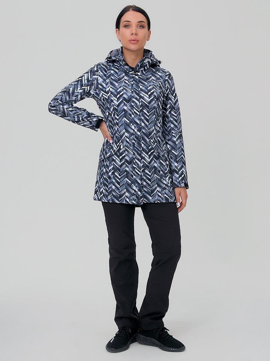 Купить оптом Костюм женский softshell темно-серого цвета 019221TC в  Красноярске