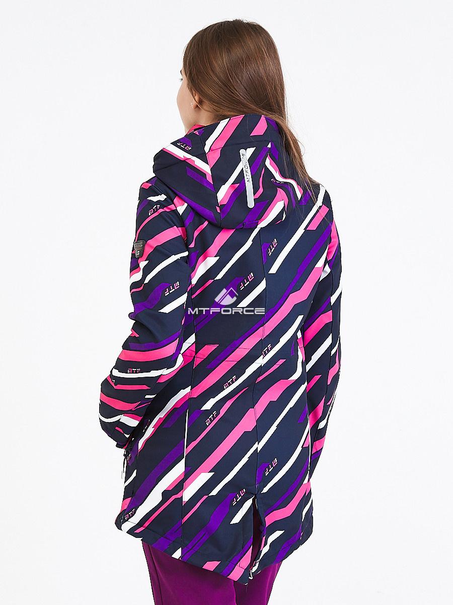 Купить оптом Костюм женский softshell фиолетового цвета 01923-1F