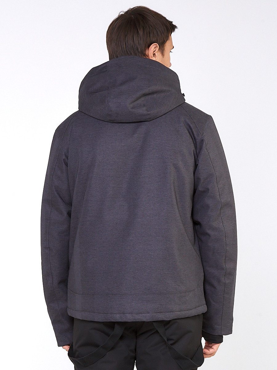 Купить оптом Мужской зимний горнолыжный костюм темно-серого цвета 01947TС в Санкт-Петербурге