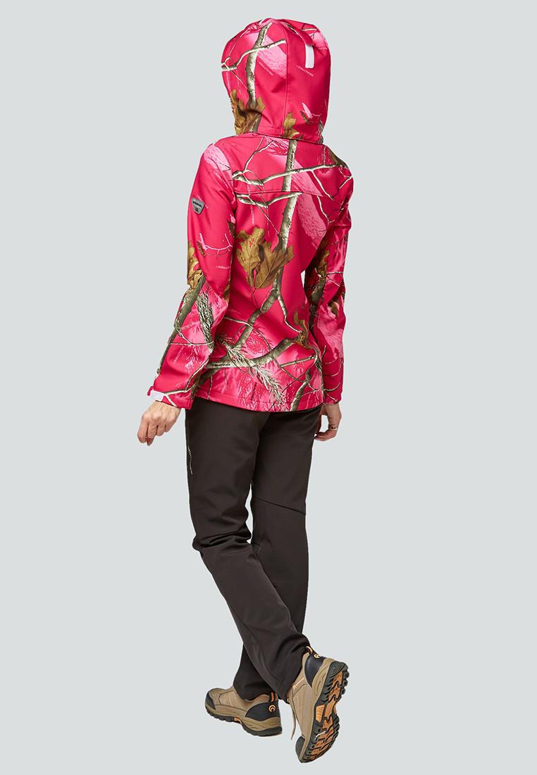 Купить оптом Костюм женский softshell розового цвета 01977R