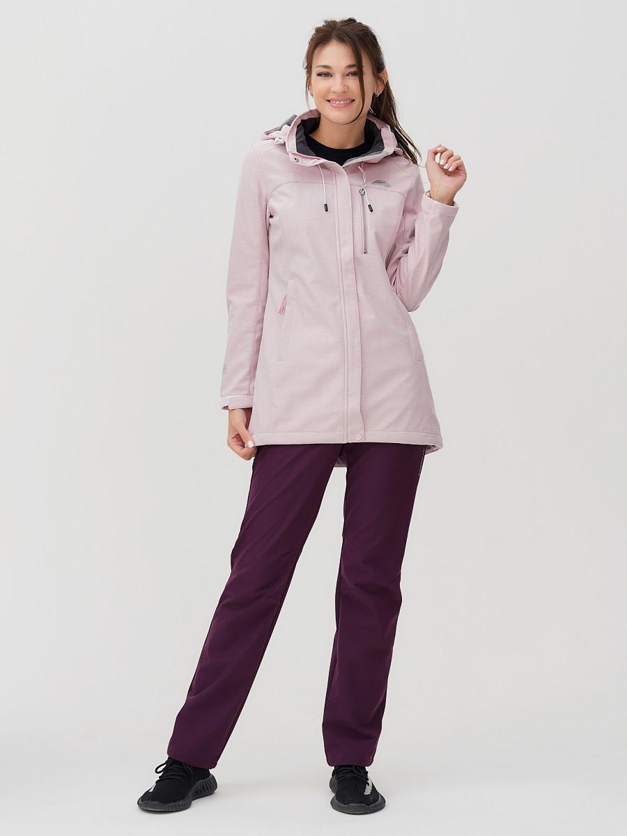 Купить оптом Костюм женский MTFORCE розового цвета 02022R