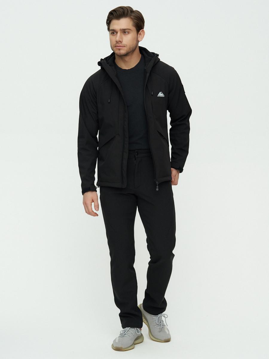 Купить оптом Комплект верхней одежды MTFORCE черного цвета 02105Ch