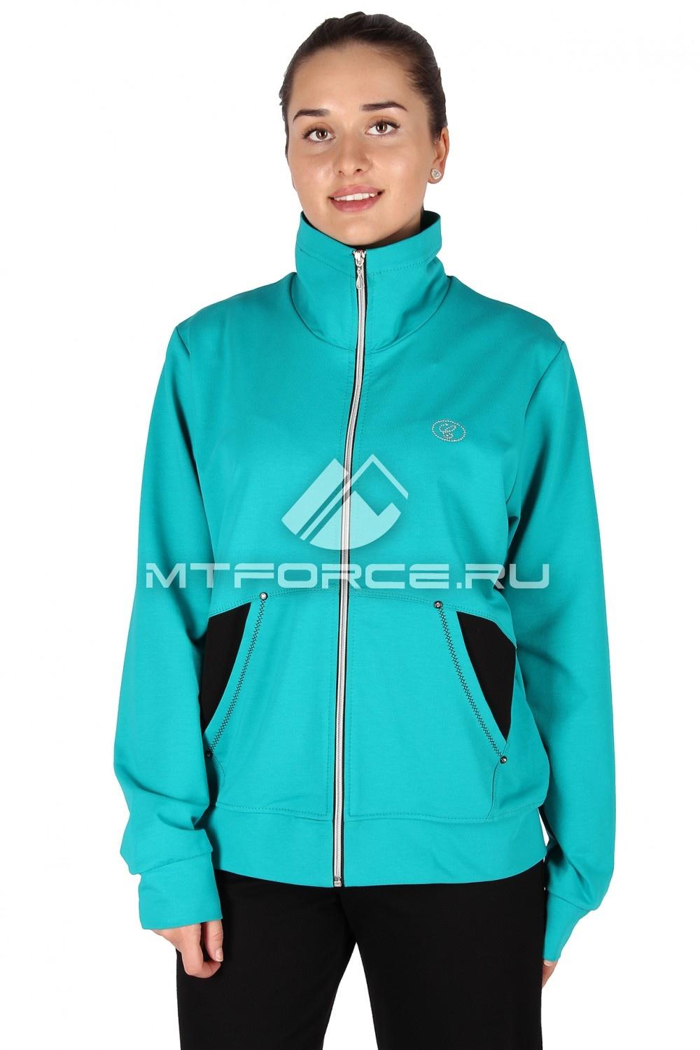 Купить                                  оптом Олимпийка женская большого размера биризового цвета 021Br