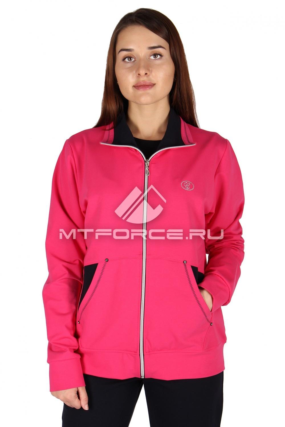 Купить                                  оптом Олимпийка женская большого размера розового цвета 021R