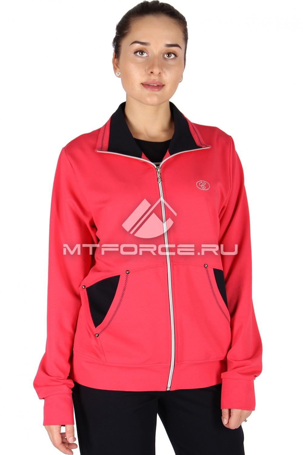 Купить                                  оптом Олимпийка женская большого размера персикового цвета 021P