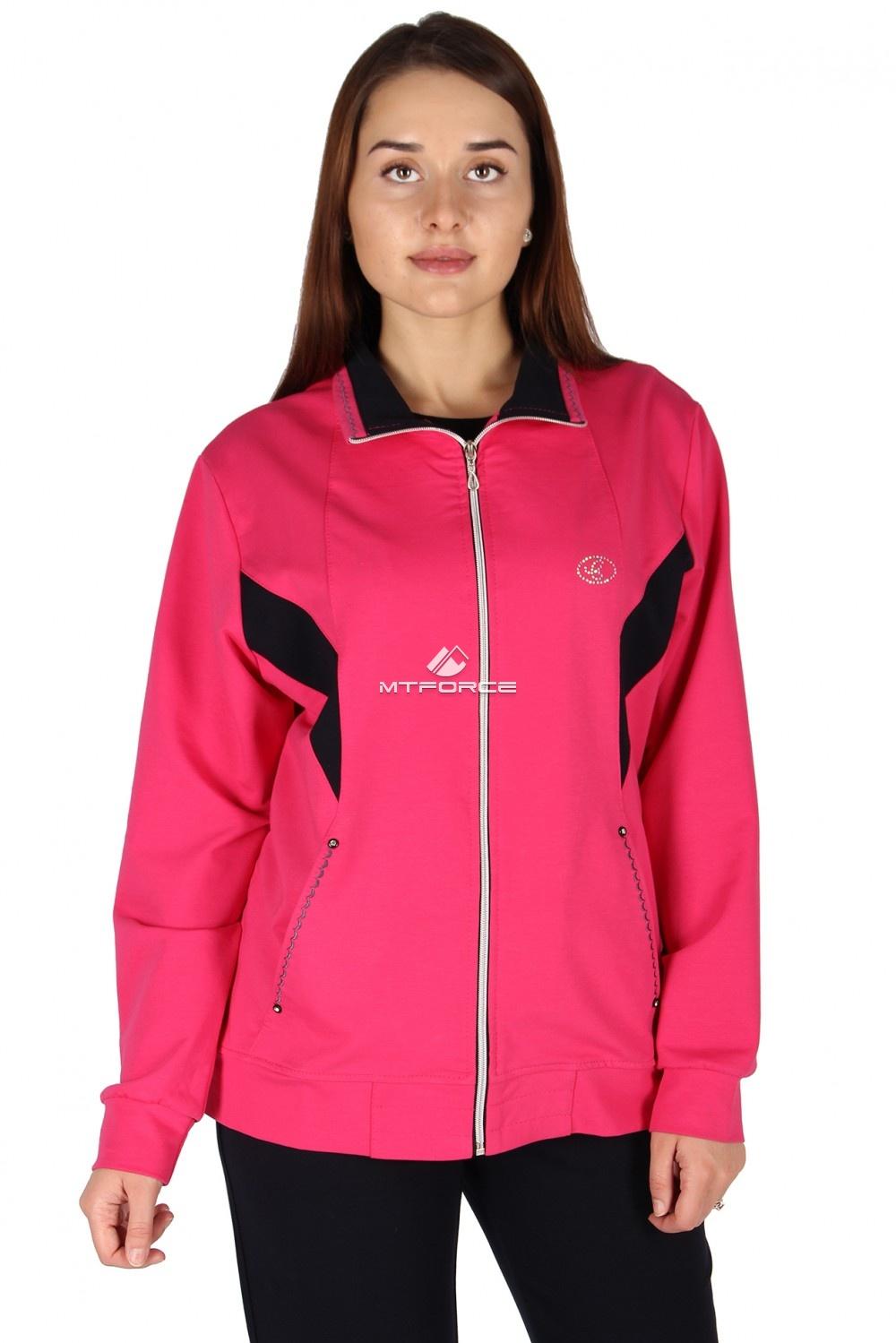 Купить                                  оптом Олимпийка женская большого размера розового цвета 022R