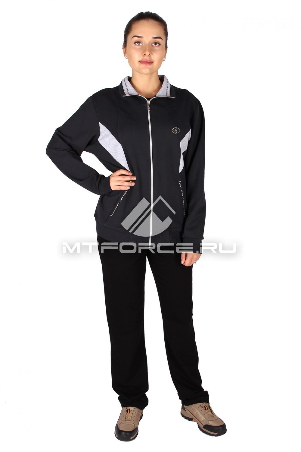 Купить                                  оптом Спортивный костюм женский большого размера персикового цвета 0022TC в Санкт-Петербурге