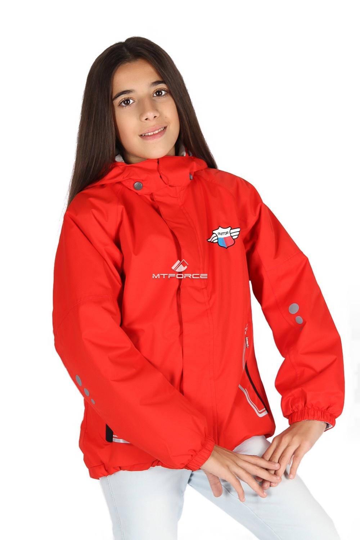 Купить                                      оптом Куртка демисезонная для девочки красного цвета 029-3Kr