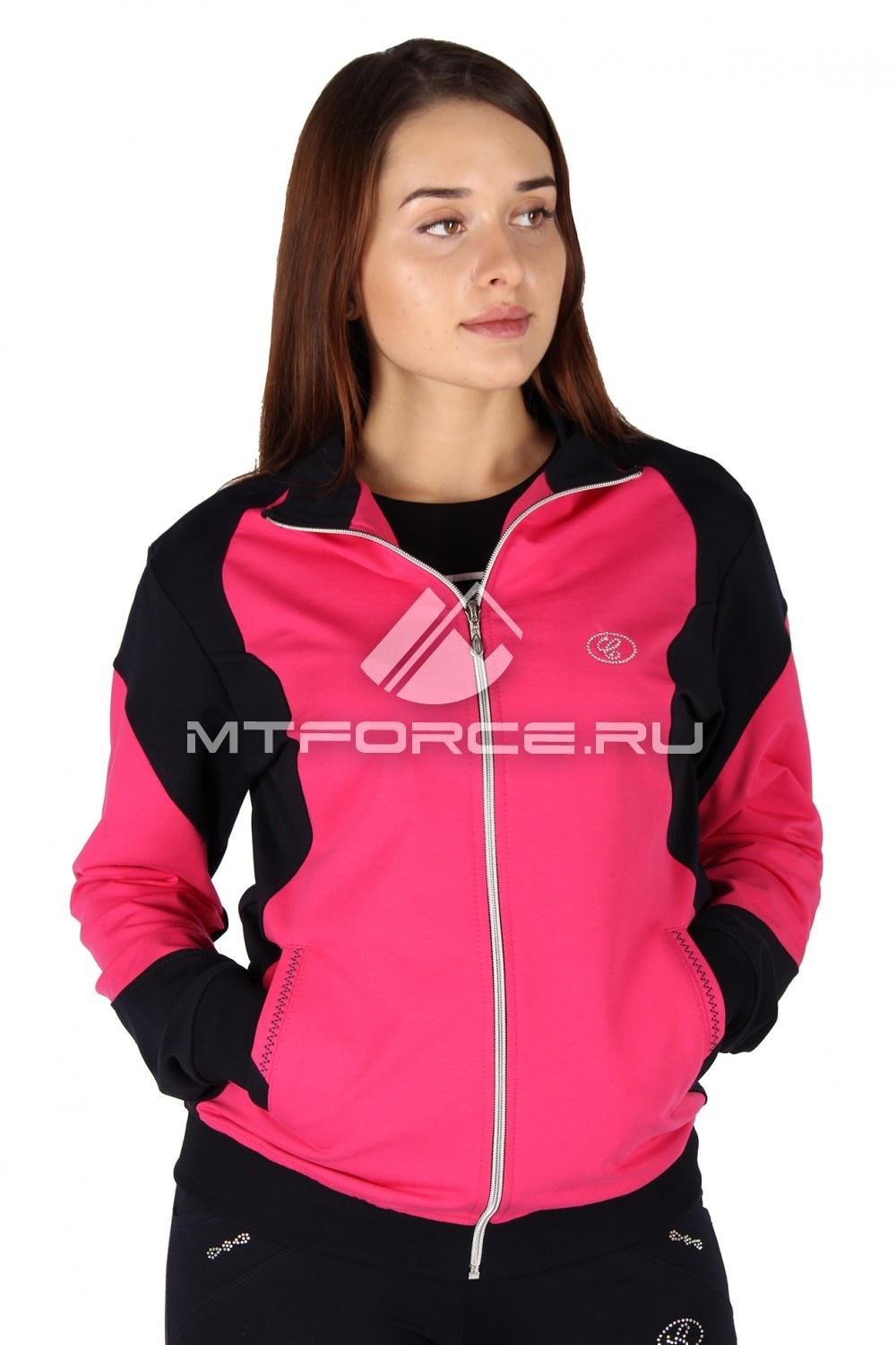 Купить                                  оптом Олимпийка женская розового цвета 050R