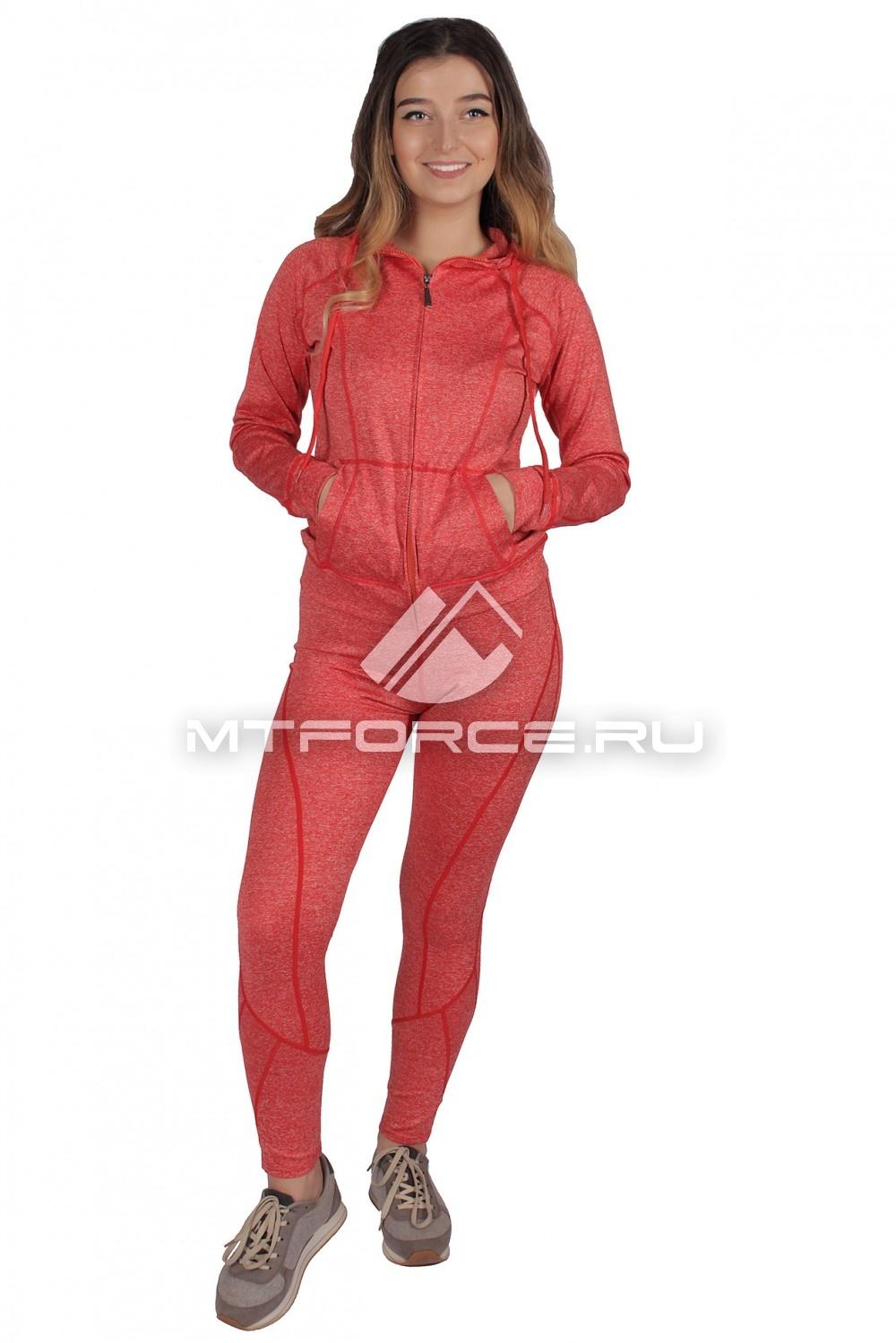 Купить                                  оптом Костюм спортивный женский персикового цвета 01020P в Новосибирске