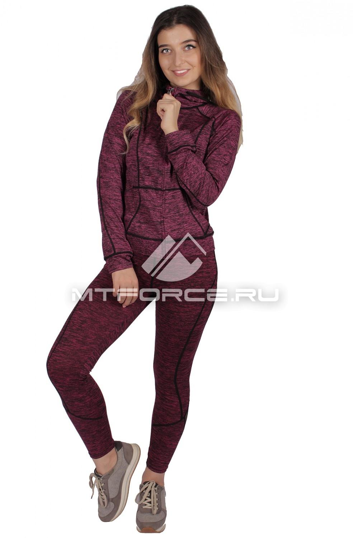 Купить                                  оптом Костюм спортивный женский фиолетового цвета 01020F в Новосибирске