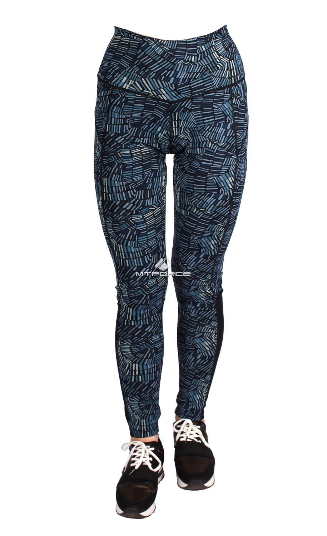 Купить  оптом Брюки легинсы женские темно-синего цвета 1066TS