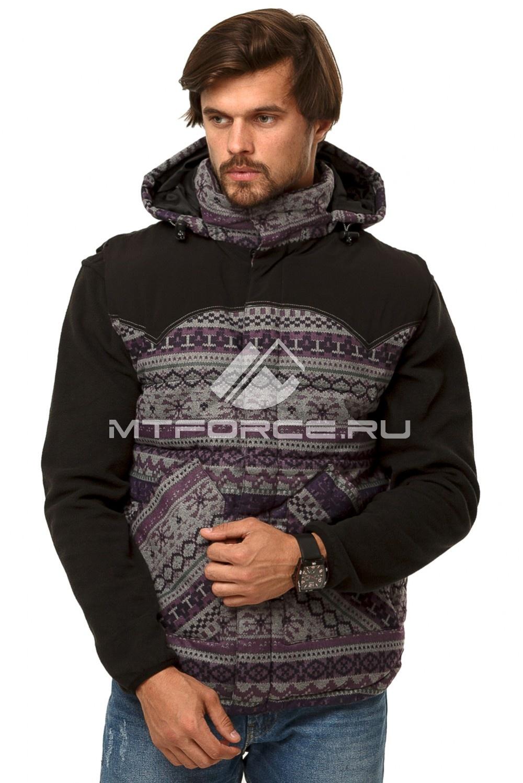 Купить                                  оптом Куртка мужская три в одном цвета хаки 1201Kh в Санкт-Петербурге