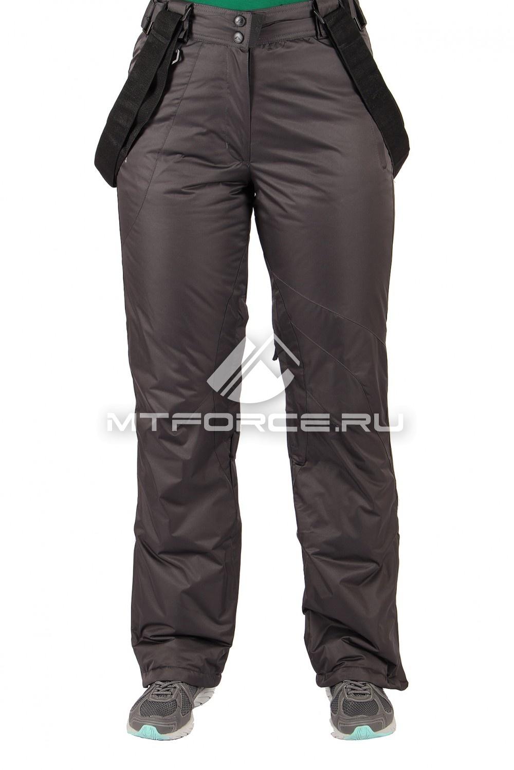 Купить                                  оптом Брюки горнолыжные женские серого цвета 1403Sr
