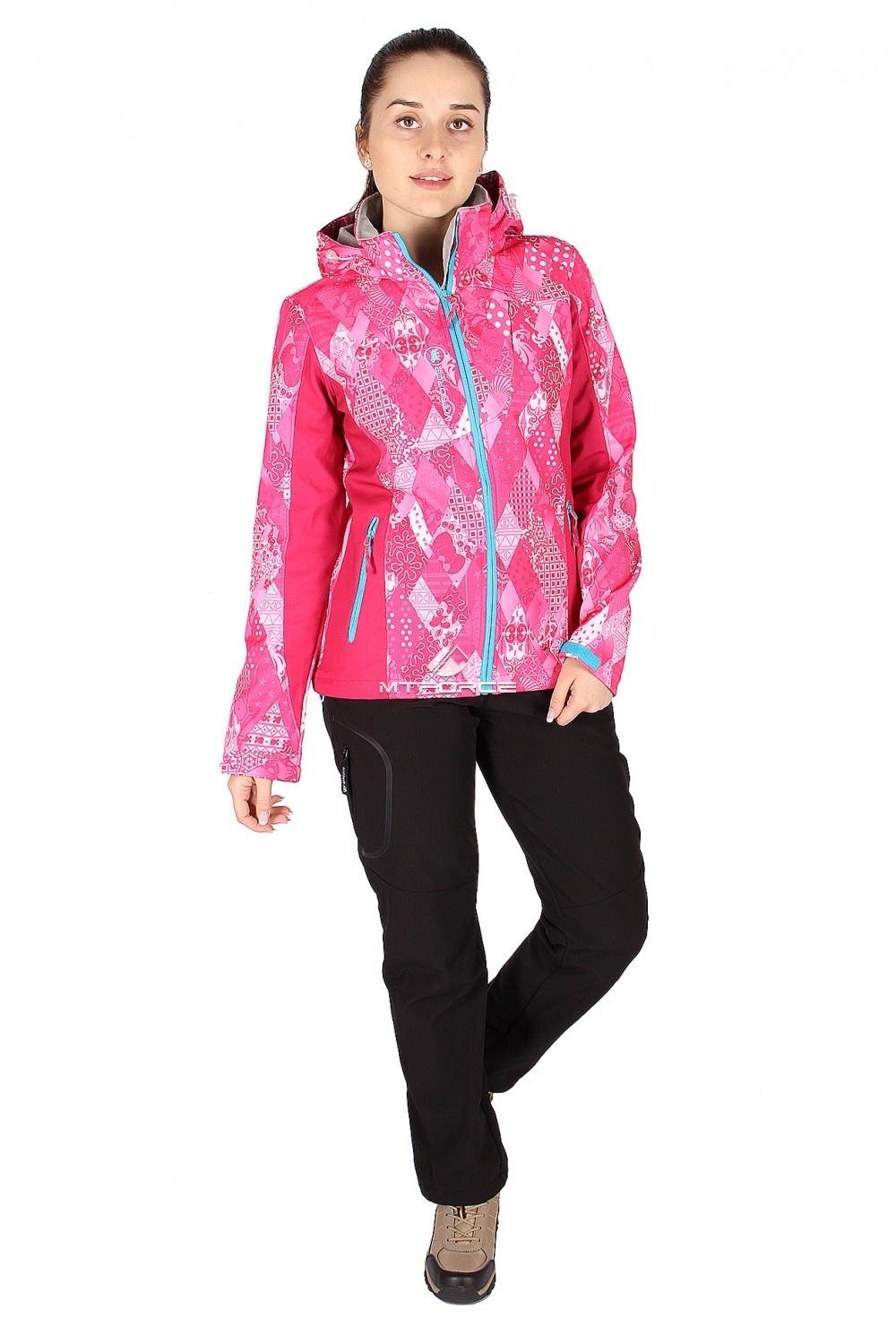 Купить                                  оптом Костюм виндстопер женский розового цвета 014110R