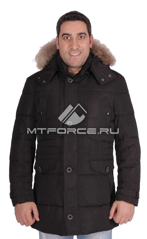 Купить                                  оптом Куртка зимняя мужская черного цвета 14272Ch