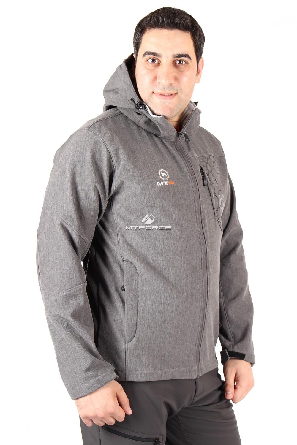 Купить                                  оптом Ветровка мужская серого цвета 01502Sr