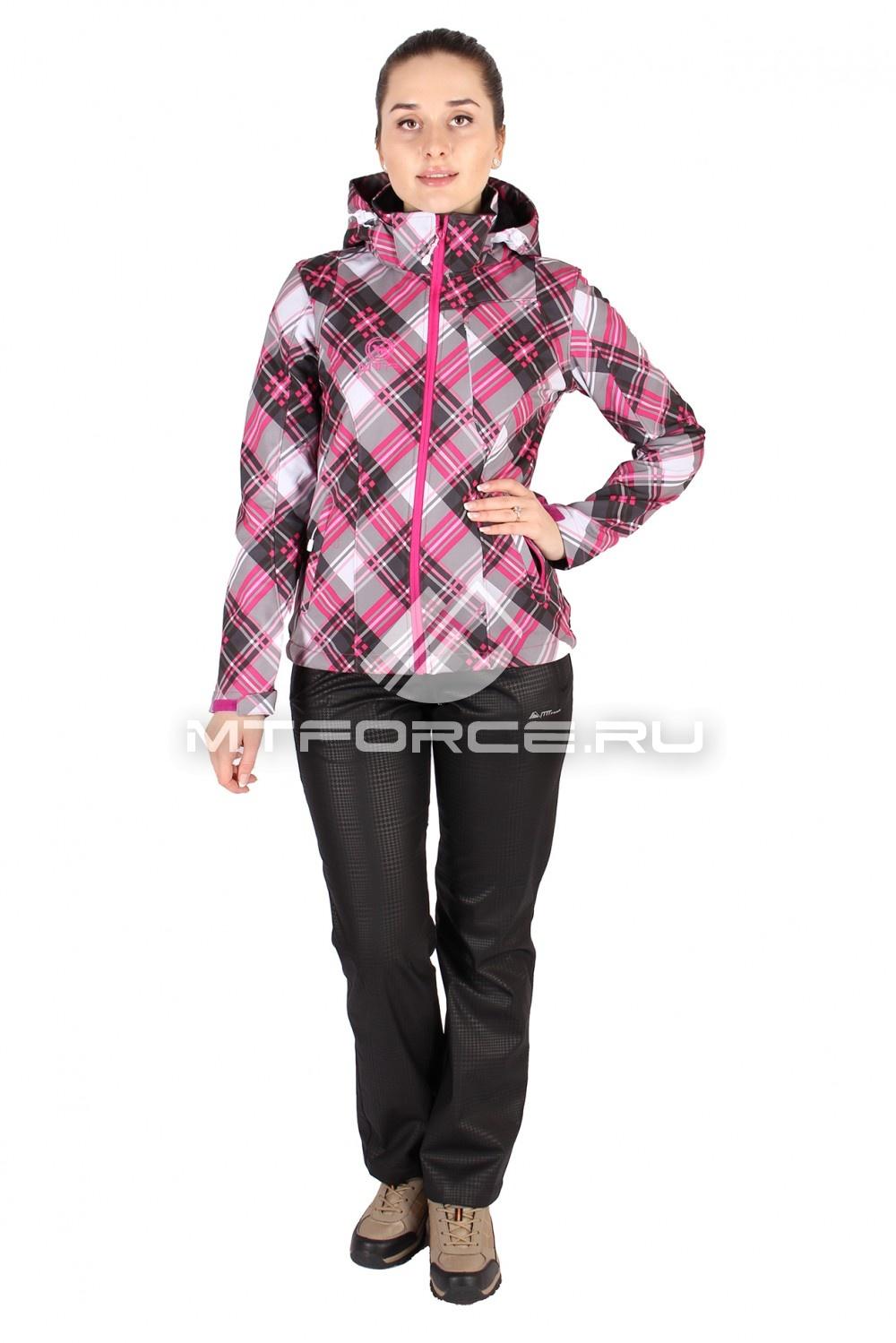 Купить                                  оптом Костюм виндстопер женский розового цвета 01505R