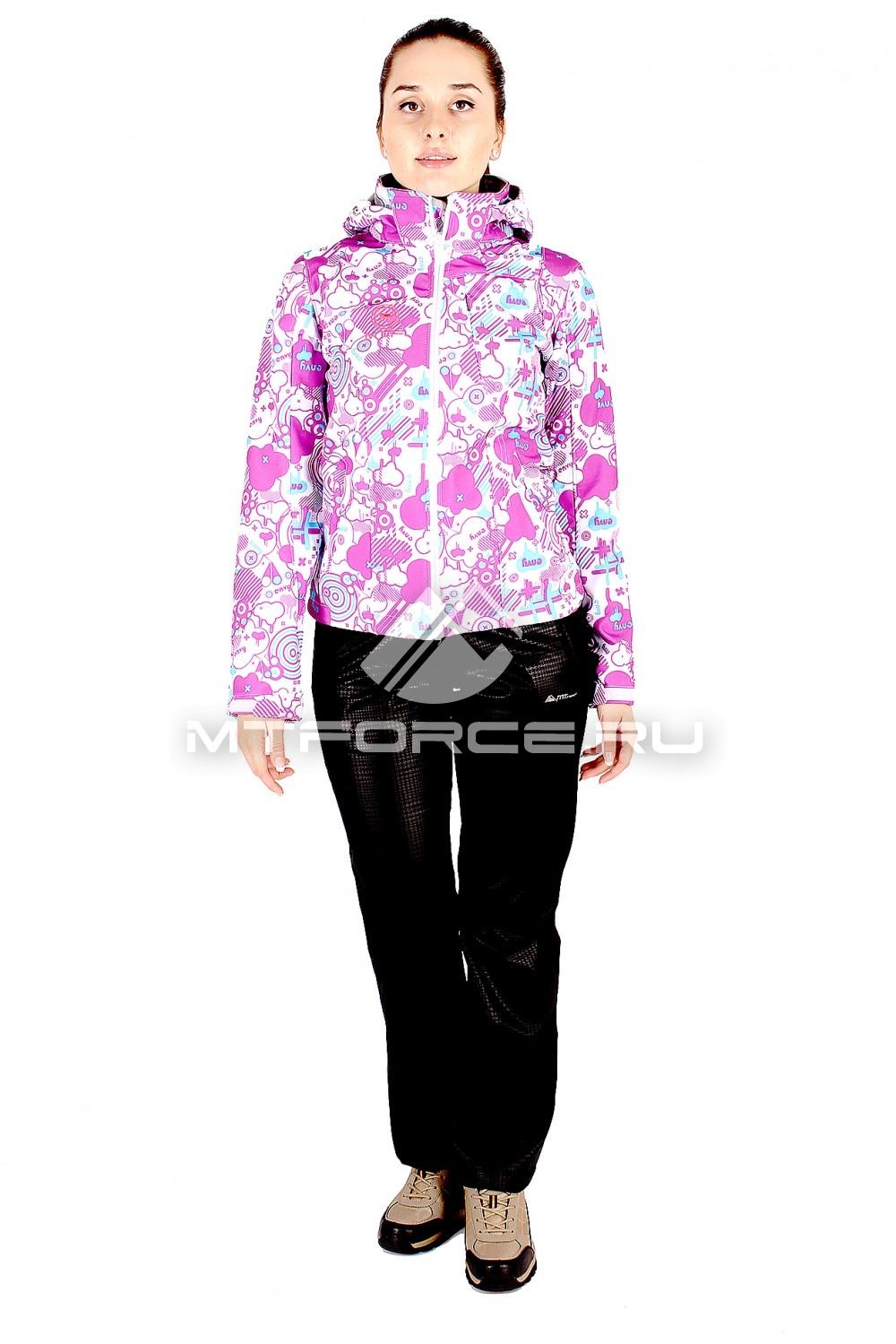 Купить                                  оптом Костюм виндстопер женский розового цвета 01512R в Санкт-Петербурге