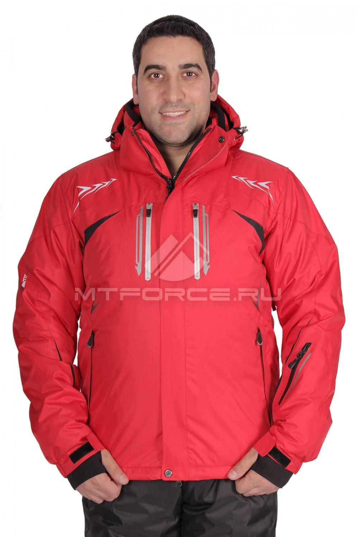 Купить                                  оптом Куртка горнолыжная мужская красного цвета 1515Kr