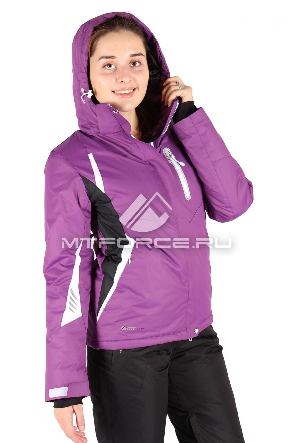 Купить                                  оптом Куртка горнолыжная женская фиолетового цвета 1516F