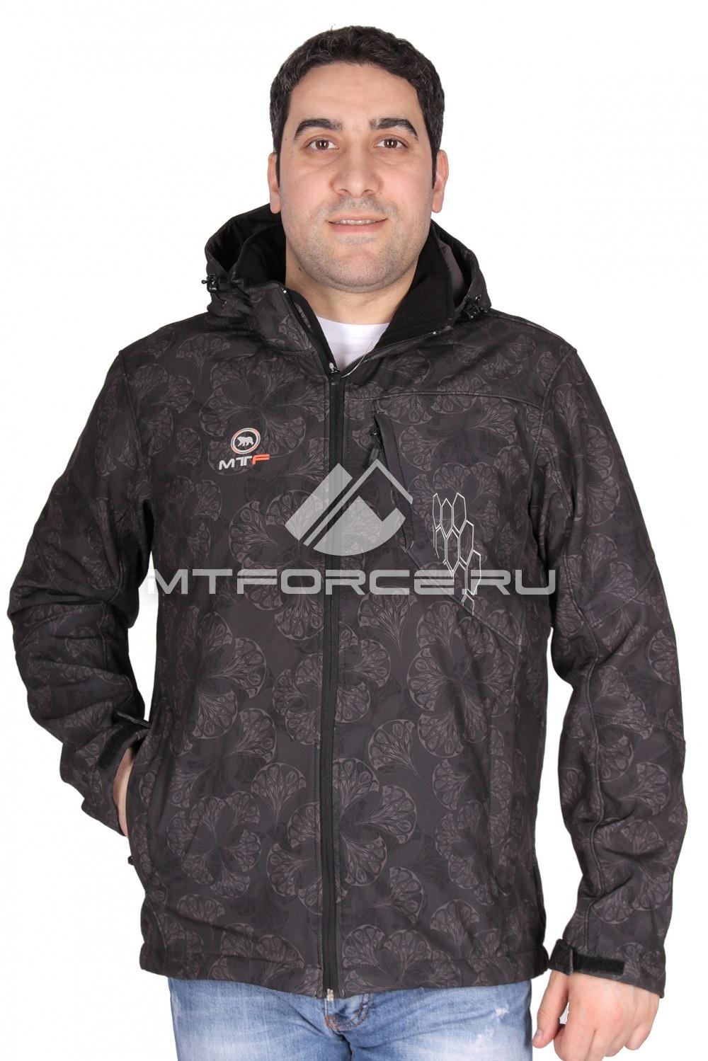 Купить                                  оптом Ветровка мужская черного цвета 1528Ch в Новосибирске