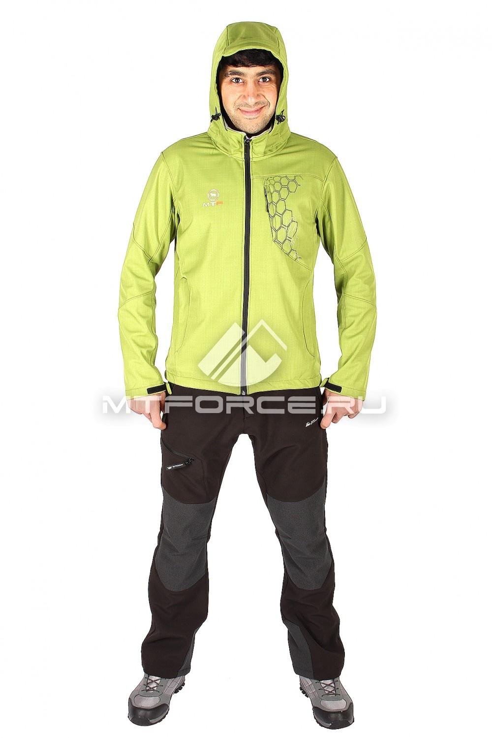 Купить                                  оптом Костюм виндстопер мужской зеленого цвета  01528Z в Санкт-Петербурге