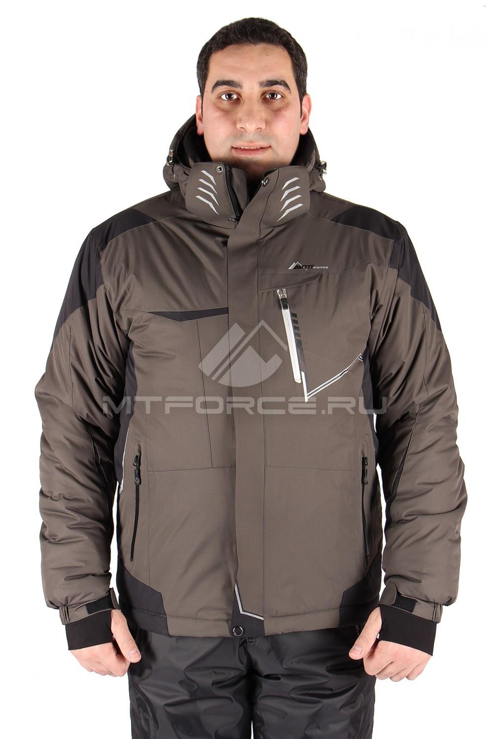Купить                                  оптом Куртка горнолыжная мужская цвета хаки 1555Kh